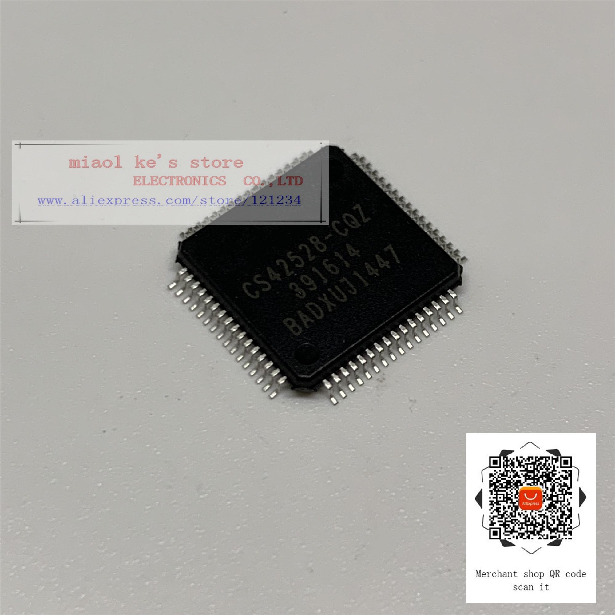 CS42528-CQZR, CS42528-CQZ QFP64 IC nuevo y original