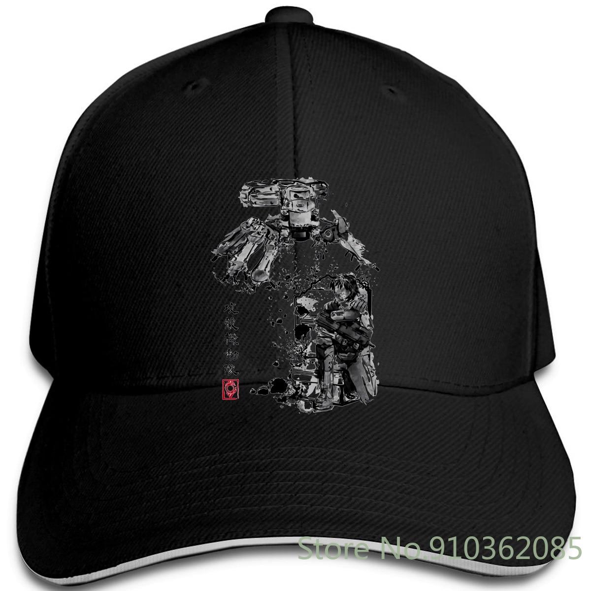 Yo-young Ghost In The Shell Major Vs Tank Impresión Digital 180gsm peinado gorras ajustables gorra de béisbol hombres mujeres