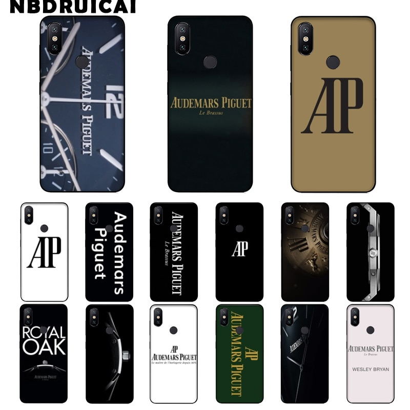 NBDRUICAI Swiss Trendy Brands TPU Soft Silicone Phone Case Cover for Xiaomi 8 9 se 5X Redmi 6pro 6A 4X 7 5plus note 5 7 6pro