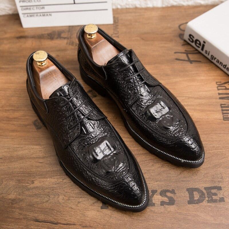 Молодежная мода волос стильная кожа обувь остроконечные кожаные туфли мужская женская обувь для отдыха; Брендовая женская обувь; Классичес...