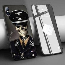 Coque Schedel Plolice Mannen Zachte Siliconen Telefoon Case Voor Iphone 11 Pro Max X 5S 6 6S Xr xs Max 7 8 Plus Case Telefoon Cover