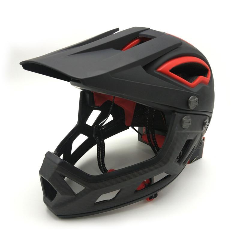 خوذة كاملة الوجه للكبار لراكبي الدراجات النارية خوذة الإنحدار لراكبي الدراجات النارية خوذة السلامة في الجبال