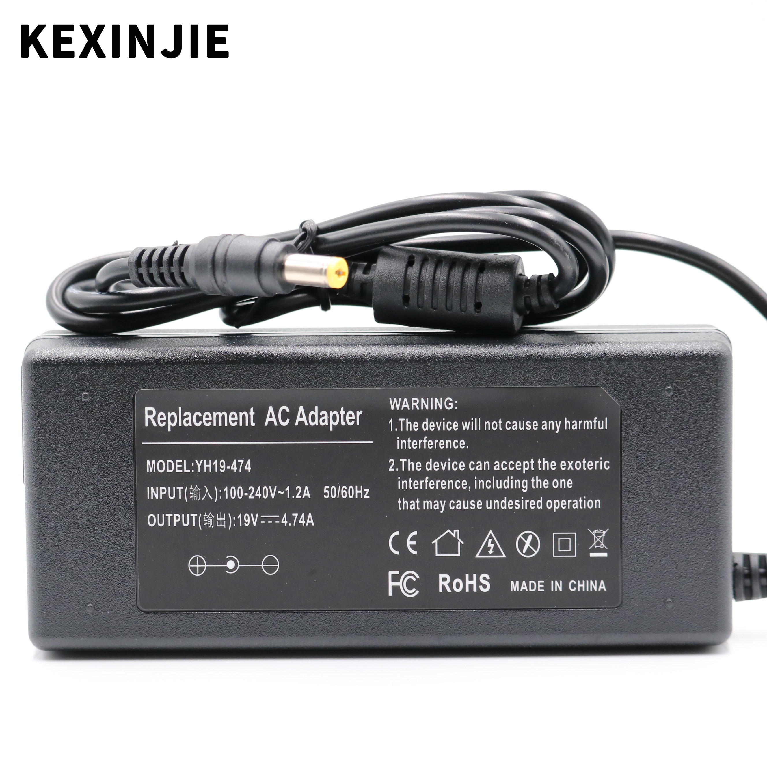 ac adapter charger power supply 19v 4 74a 5 5 3 0mm 90w for samsung laptop r453 r518 r410 r429 r439 r453 for notebook samsung 19V 4.74A AC Power 90W 19V4.74A Supply Notebook Adapter Charger For ASUS Laptop For Toshiba/HP Notbook DC plug 5.5*1.7mm