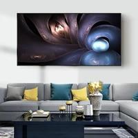 Peinture a lhuile abstraite sur toile  sphere intercalaire  art  salon  couloir  bureau  etude  decoration murale de la maison
