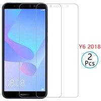 Чехол для huawei y6 prime 2018, защита экрана из закаленного стекла для y6, 6y, y6prime, y62018, защитный чехол для телефона