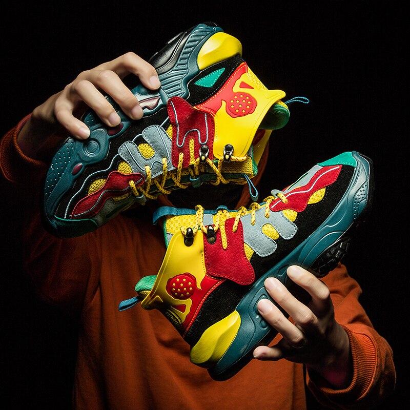 Veces nuevos zapatos masculinos casuales de moda romana para adultos zapatos para hombres zapatillas de deporte para hombre superestrella tobillo zapatillas de plataforma