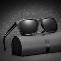 2020 men polarized sunglasses brand vintage square driving movement sun glasses men driver safety protect uv400 eyeglasses