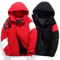 2020 autumn winter new down hooded coats fashion warm overcoat casual down jacket minimalist outwear white goose down cloth