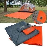 desert tarp tent floor waterproof tarp picnic mat ultralight pocket tent footprints tarp with sack for outdoor camping hiking