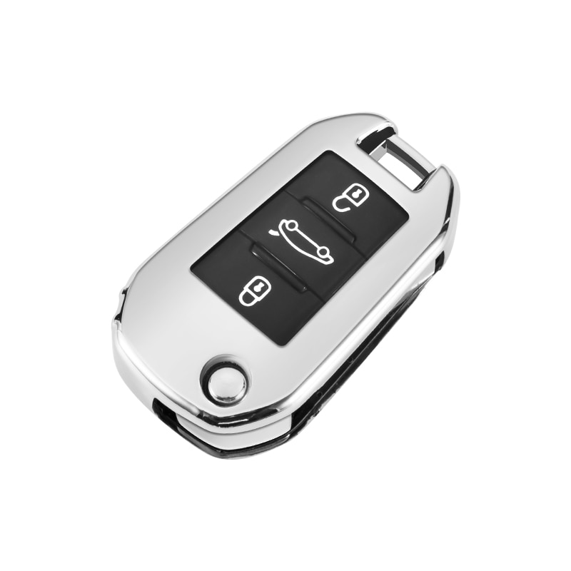 soft tpu car remote key case cover shell for peugeot 308 408 508 2008 3008 4008 5008 citroen c4 c4l c6 c3 xr picasso ds3 ds4 ds5 TPU Car Key Fob Full Cover Case Bag Shell Skin Key Chain Holder for Citroen C4 CACTUS C5 C3 C4L Peugeot 508 301 2008 3008 408
