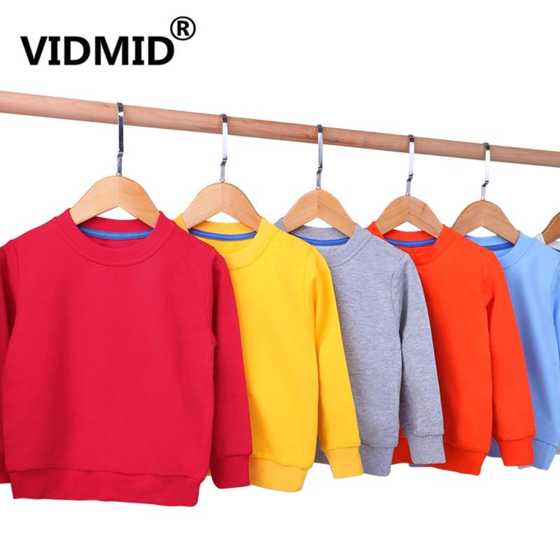 VIDMID Children Coats t-shirts Baby Girls Long Sleeve Coat jacket boys Outerwear Cartoon long sleeve t-shirts clothing 4150 33
