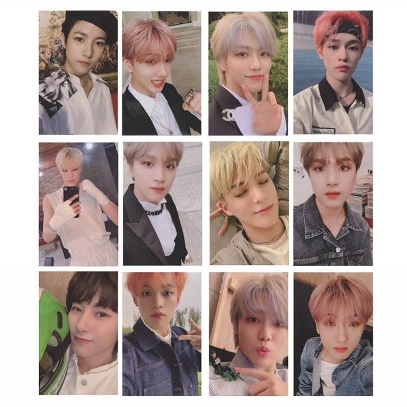 Kpop NCT 127 U Dream Empathy Lomo autocollant de carte Photo autocollant de carte Photo collante 6 pièces/ensemble offre spéciale