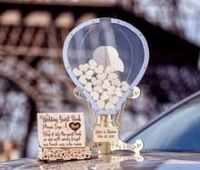 Transparent Ballon Form, Hochzeit gästebuch, Hochzeit gästebuch Alternative, Drop-Box Gästebuch, gästebuch, Ballon Hochzeit