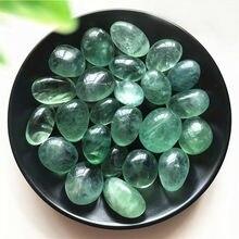 100g 10-30mm Natural Tumbled Polished Green Fluorite Stones Natural Crystals Gemstone Healing Natural Stones and Minerals
