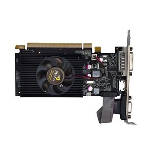 GT210 1G Dual-screen Office High Definition Graphics Half-height Knife Card Discrete Graphics For Large And Small Chassis