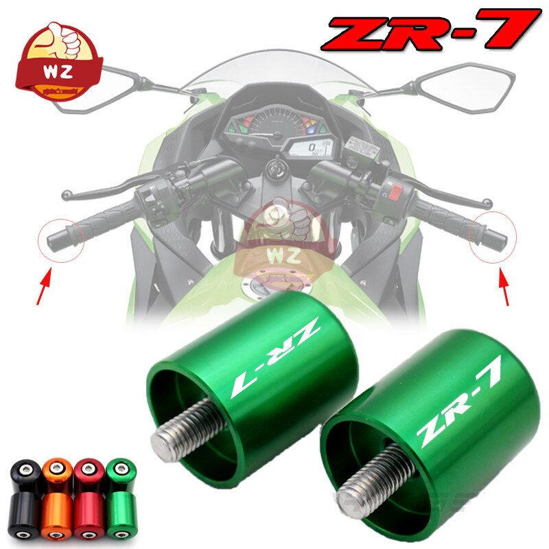 Con (ZR-7) University para KAWASAKI ZR-7 ZR 750 CNC manillar empuñaduras barra...