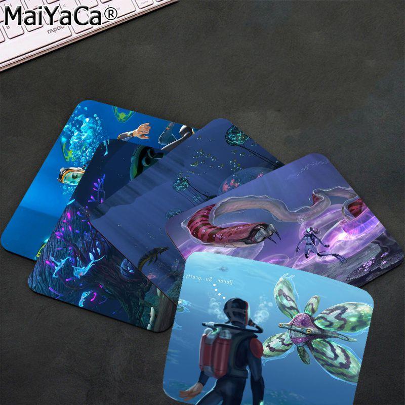 Новинка, игровые подставки для клавиатуры MaiYaCa Subnautica, игровые коврики для мыши, гладкий коврик для письма, настольные компьютеры, игровой ко...