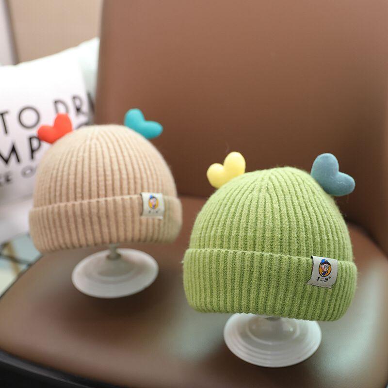 Cute babys Cap Autumn Winter kids Knitted hats  Newborn Photography Props children's kids hat babys accessories
