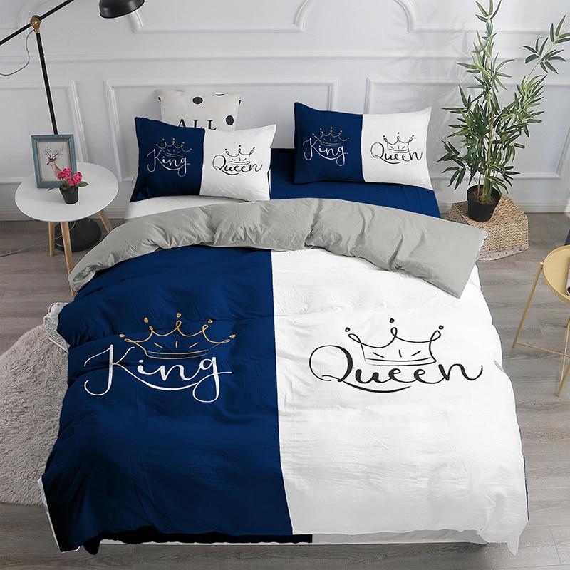 لطيف 3D الفراش مجموعة الملكة الملك غطاء لحاف مجموعة ل 2 الناس مزدوجة السرير الاطفال البالغين أغطية المنسوجات المنزلية السرير مجموعة السرير ال...