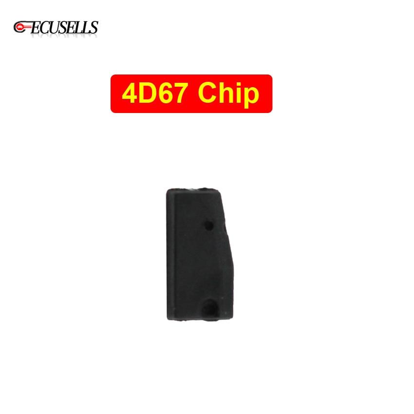 4D67 Chip Carbon Auto Transponder Chip 4D 67 Ceramic Chip Blank Car Key Chip For Toyota Camery Corolla Previa Reiz Crown RAV4