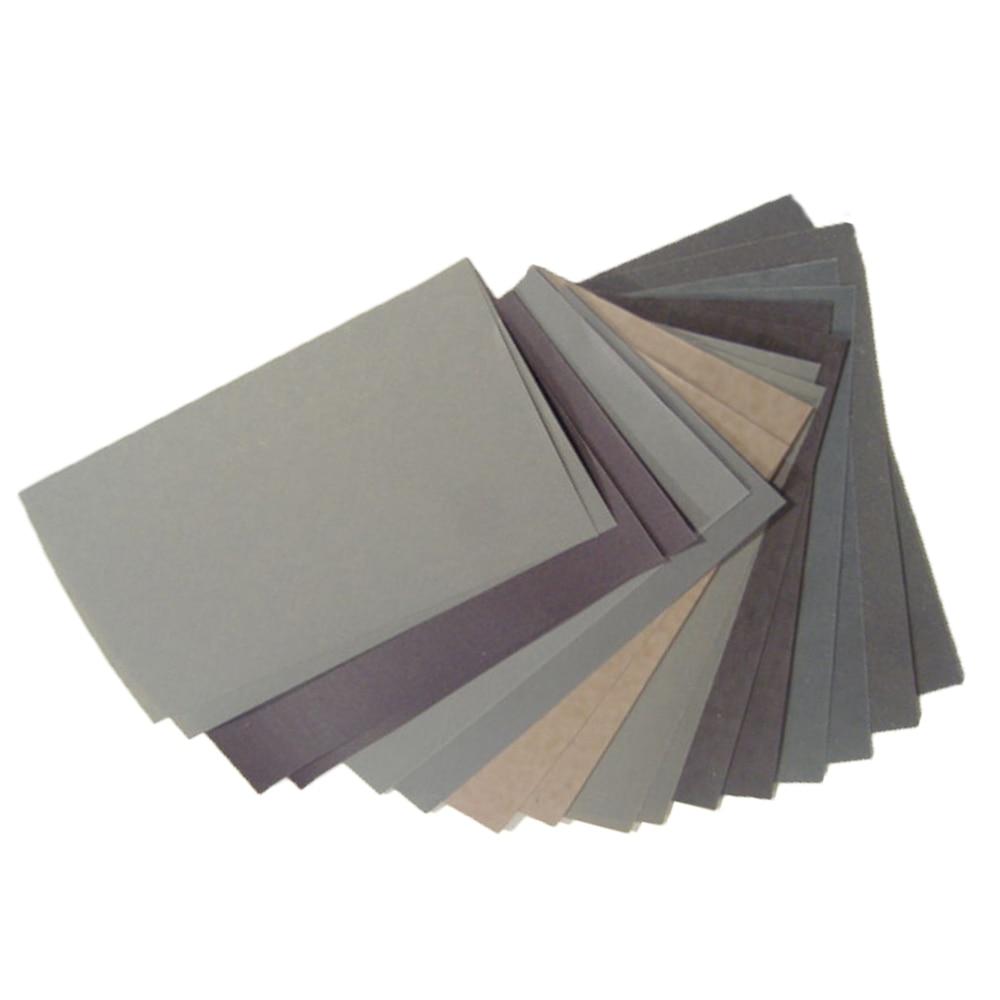 15db-os csiszolópapír készlet 400 600 3000 800 1000 1200 1500 2000 - Csiszolószerszámok - Fénykép 2