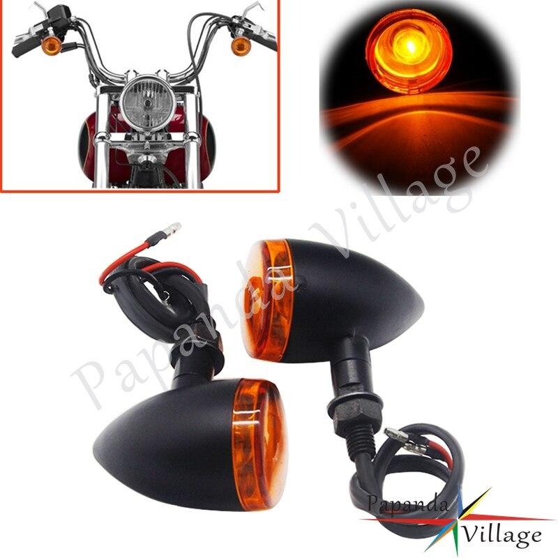 Preto fosco do vintage motocicleta transformar a luz do sinal para suzuki boulevard c50 volusia 800 c90 m109r c109 marauder 800 m50 lc1500