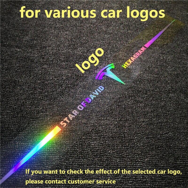 Модифицированные автомобильные наклейки с логотипом автомобиля, персонализированные наклейки с кузовом, против царапин и 3D стерео, 65 см, ла...