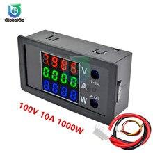 DC 0-100V 10A 1000W LCD voltmètre numérique ampèremètre wattmètre tension testeur de courant compteur de puissance Volt détecteur 12V 24V 36V 1000W