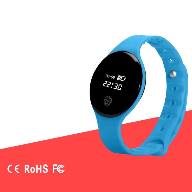 H8 Wristband Blood Pressure Watch Oxygen Heart Rate Monitor Smart Bracelet Pedometer IP3 Waterproof Band