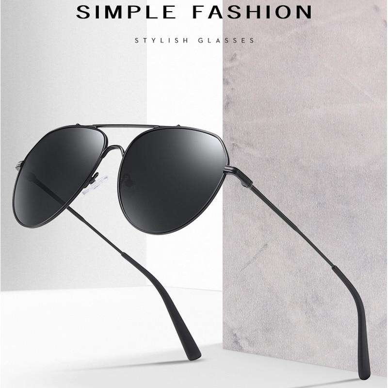 2020 gafas de sol de metal de alta calidad con montura grande...