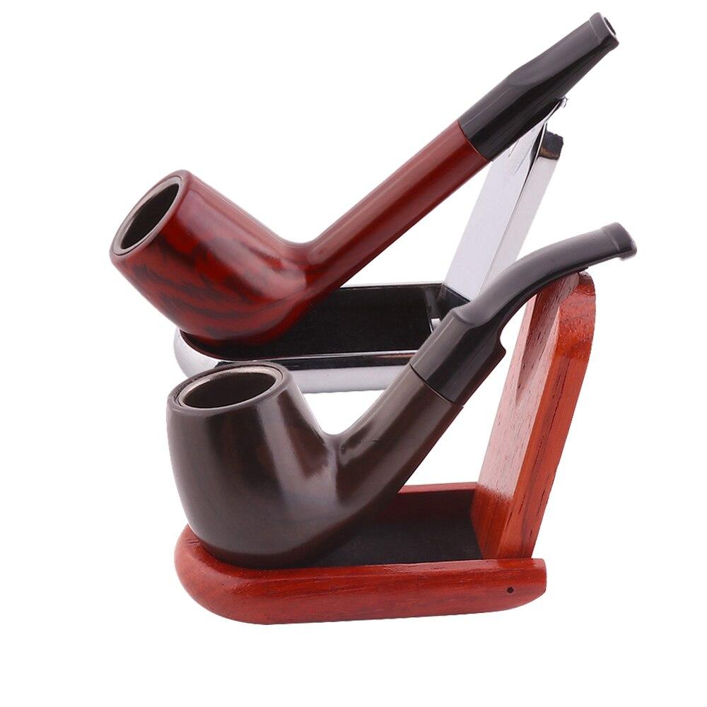 Классические курительные трубки из смолы, портативная курительная трубка, трубки для табака, измельчитель для курения трав, аксессуары для ...