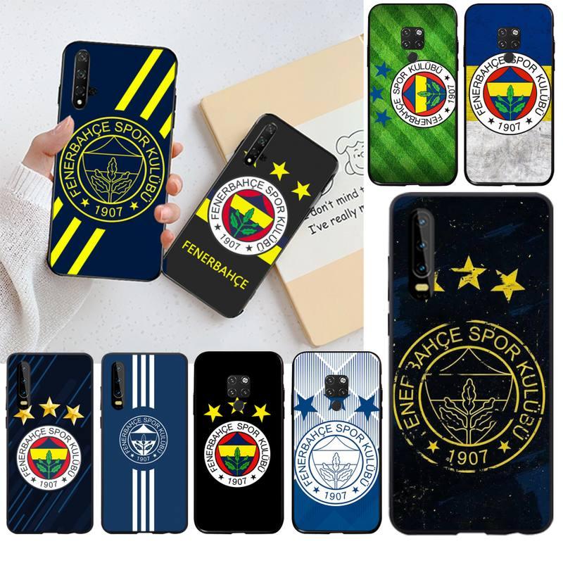 Turquía Fenerbahce fútbol lujo diseño único teléfono cubierta para Huawei P40 P30 P20 lite Pro Mate 20 Pro P Smart 2019 prime