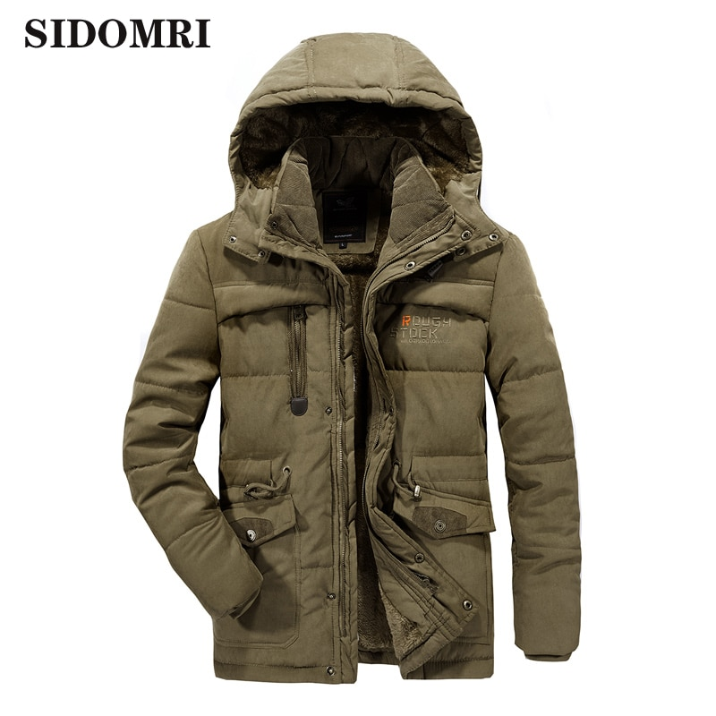 Men jacket velvet and thicken winter cotton-padded clothes plus extra size windproof warm comfortable cotton-padded clothes