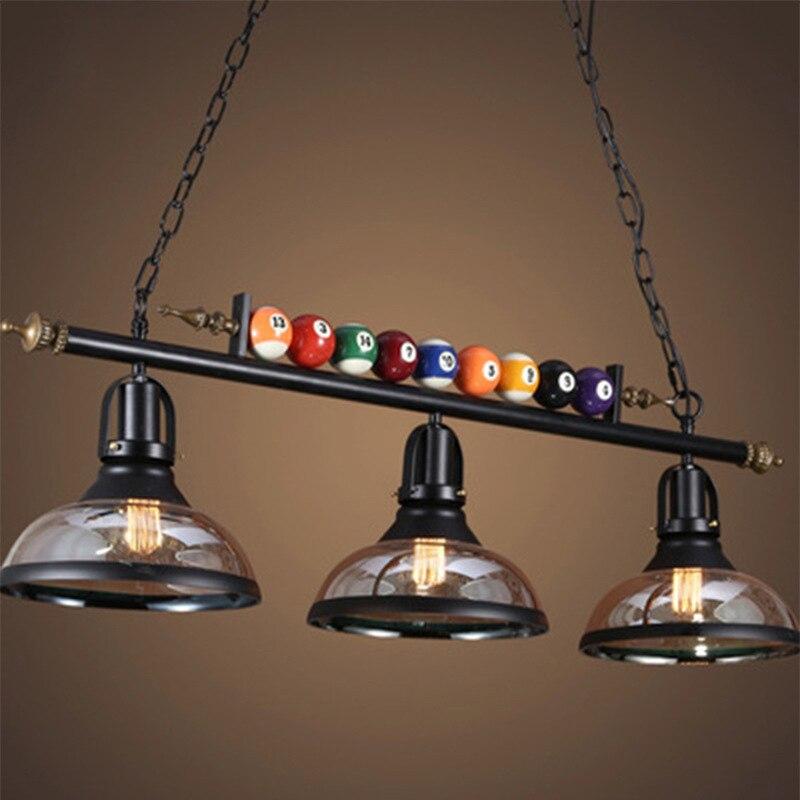 lampada suspensa de led americana luminaria decorativa para restaurante bar roupas