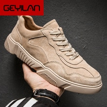 Brand Men Casual Shoes Genuine Leather Men Flats Soft Oxford Shoes Top Quality Outdoor Shoes Men Sne