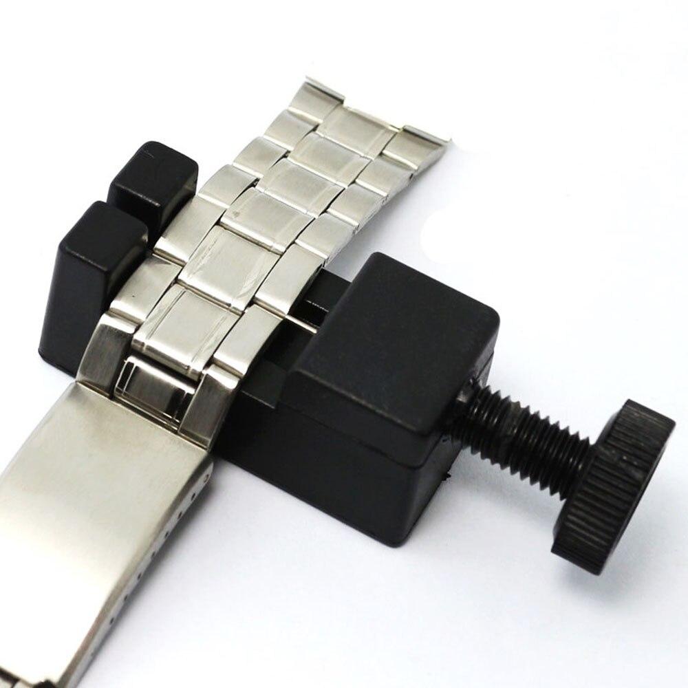 Relógio de pulso link para faixa fenda cinta pulseira pino corrente removedor ajustador ferramenta reparo kit 24mm para masculino/feminino relógio