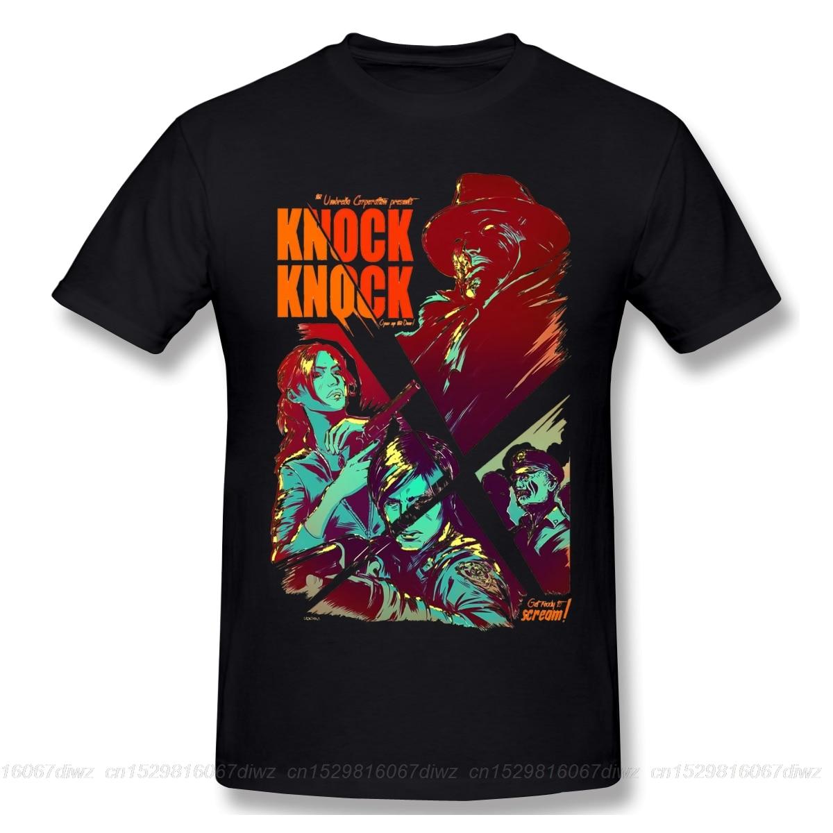 Camiseta de Resident evil, camiseta roja 6xl, camiseta bonita, camiseta gráfica a la moda para hombres con golpes, camiseta de algodón 100 de manga corta