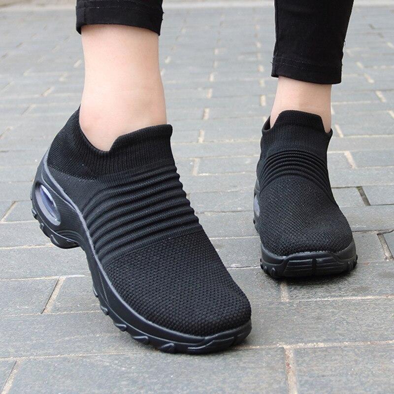 Sneaker kobiety buty skarpety kobieta buty