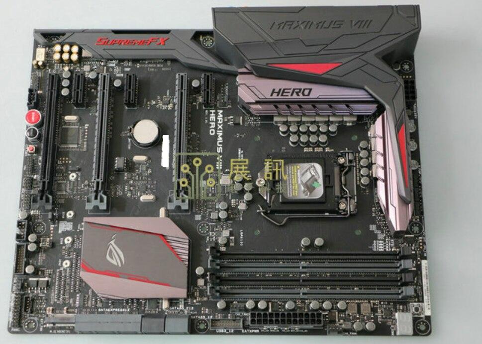 لوحة أم أصلية لماكسيموس الثامن بطل DDR4 LGA 1151 USB2.0 USB3.0 USB3.1 64 جيجابايت لوحة أم لسطح المكتب