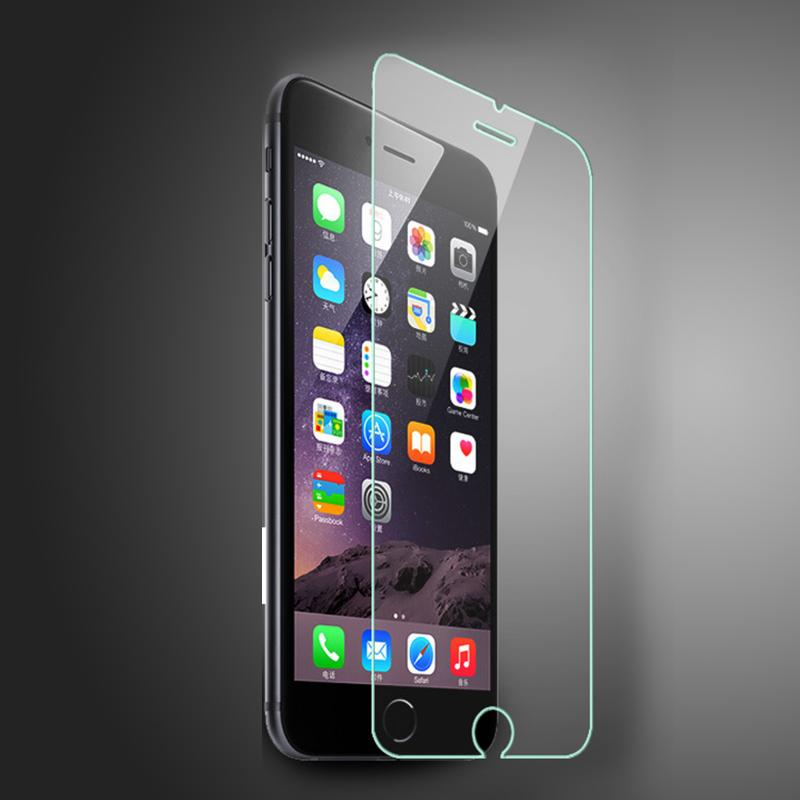 Luxury Transparent Mirror Tempered Glass Film ForApple IPhone 6 6s 4.7 Inches Smartphone  Screen Pro