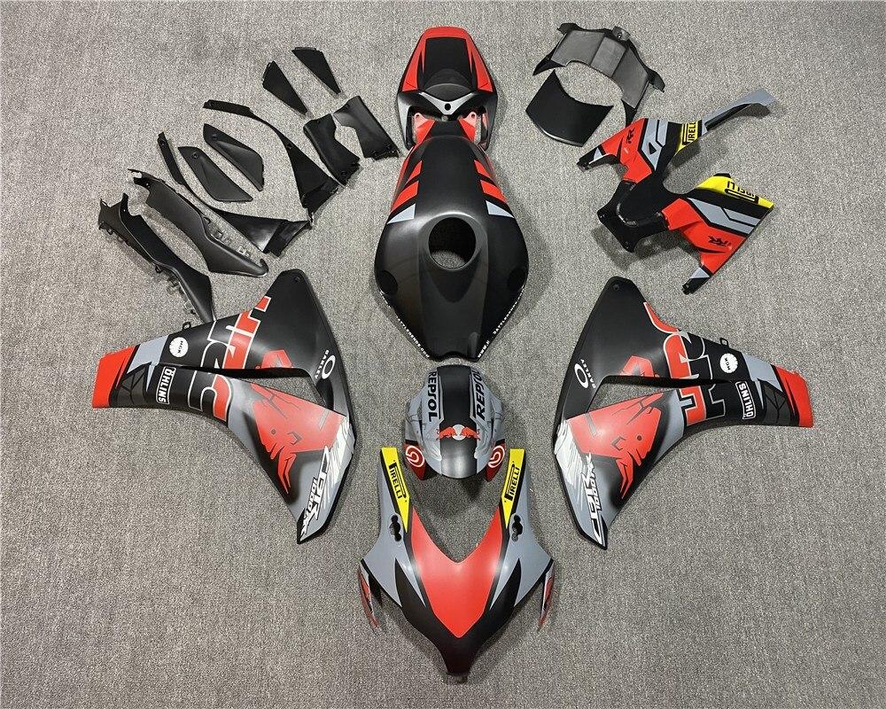 جديد ABS كامل دراجة نارية الهدايا المجمعة لهوندا CBR1000RR 2008 2009 2010 2011 CBR1000 RR 08 09 10 11 ريبسول الجسم ريد بول هدية