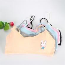 Kids Underwear Model 100% Cotton Girls Tank Top Candy Color Undershirt Girls Singlet Baby Camisole B
