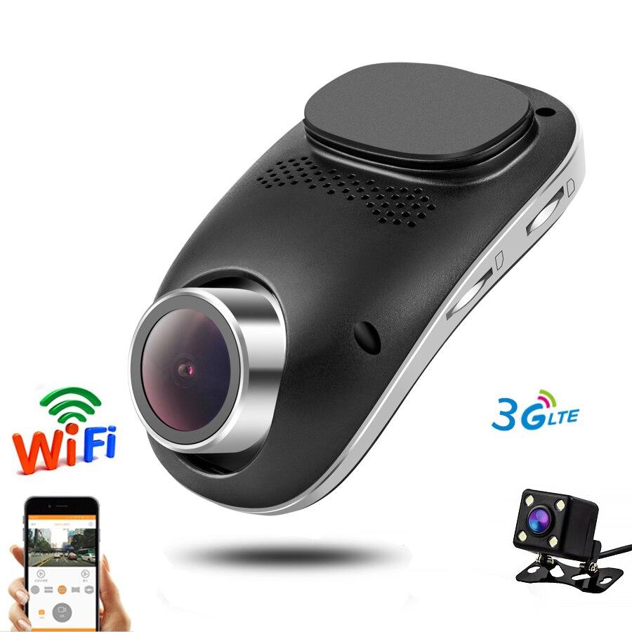 4G DVR para coche Dvr WIFI DVRs Cámara Dual registrador de vídeo Digital para coche Dashcam grabadora videocámara Full HD 1080P VERSIÓN NOCTURNA