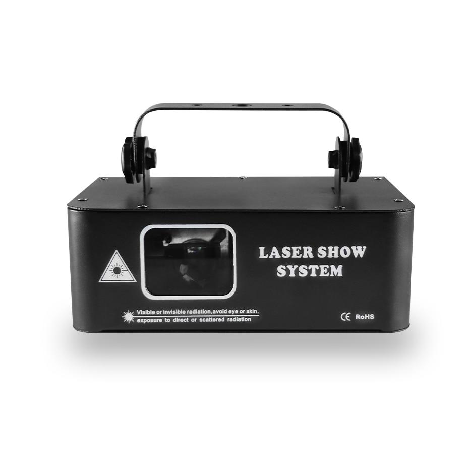 Radiation stage light 500mw RGB laser scanning projector DJ disco stage lighting effect party wedding holiday bar club DMX light
