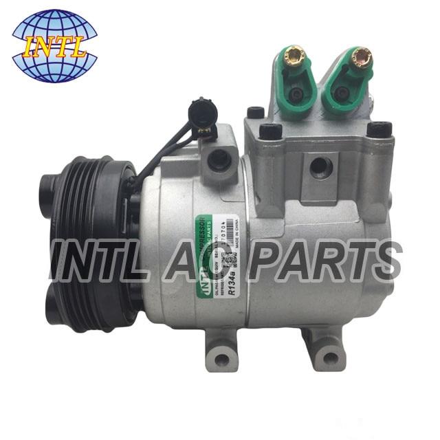 Compresor de CA HS15 para Kia Bongo 3/Frontier Hyundai /K2900 camión 977014E000 97701-4E000 977014E001 97701-4E001
