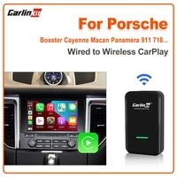 carlinkit 3 0 wireless carplay adapter for porsche 718 911 panamera macan cayenne taycan plug and play auto connect dongle ios14