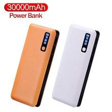 Power Bank 30000mAh Portable 3 USB LED Digital Display Powerbank Fast Charging External Battery for smart phone