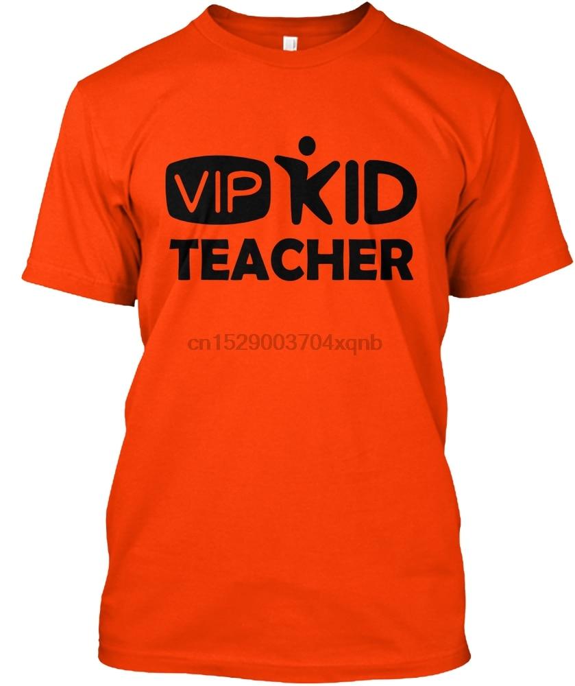 Camiseta de manga corta para hombre VIPKID dinosaurio camiseta de maestro para mujer