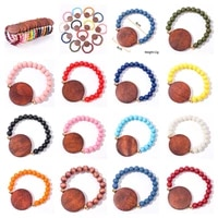 wood chips bracelet for women retro wooden beads charm bracelet for men fashion jewelry accessories wholesale trend gift 2021