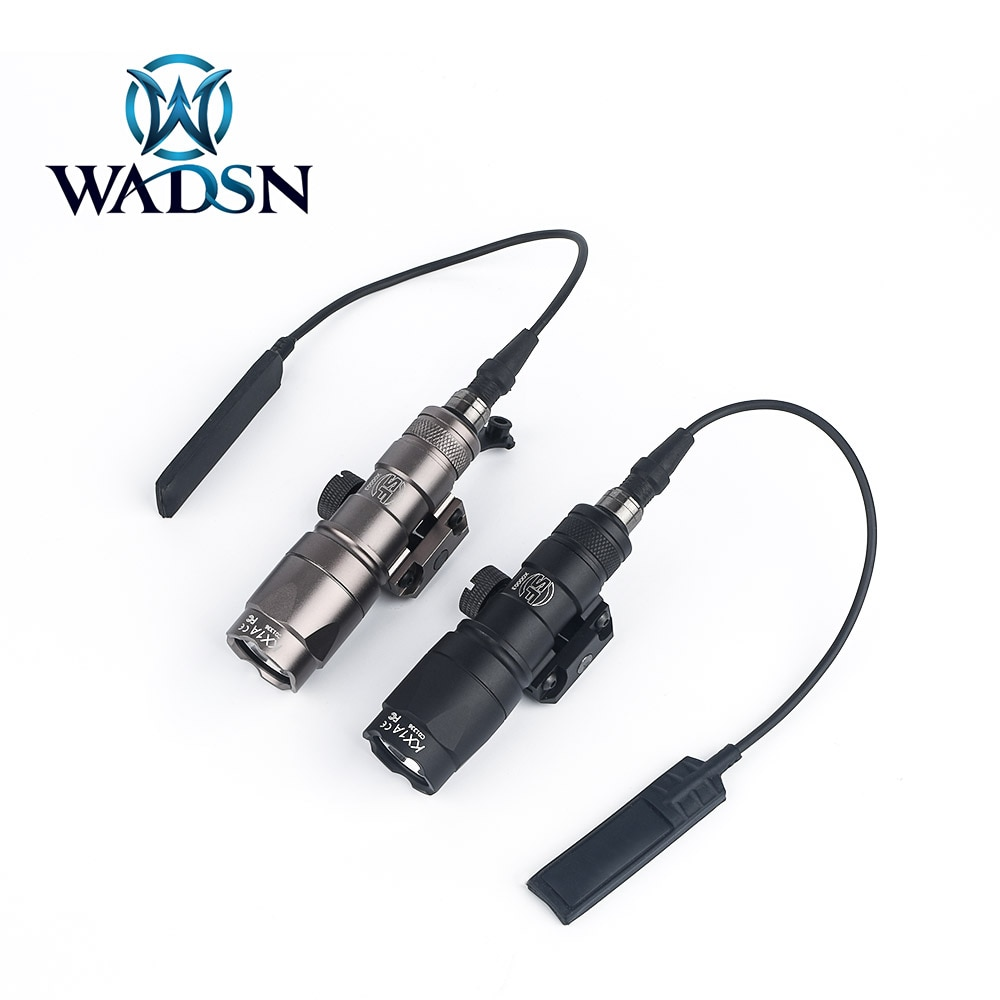 WADSN Airsoft Surefir M300 M300A Mini Scout light 280Lumens LED Tatical Hunting Tactical Torch Weapo
